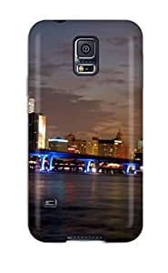 Best 3693202K76695012 Hot Fashion Design Case Cover For Galaxy S5 Protective Case (miami City)