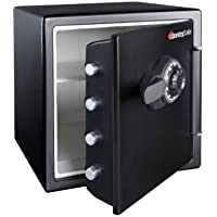 SentrySafe SFW123CS2 1.2 cu. ft. Combination Safe (Black)