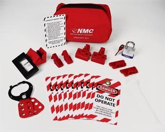 Nmc Economy Lockout Pouch Kit - 8X6x7''