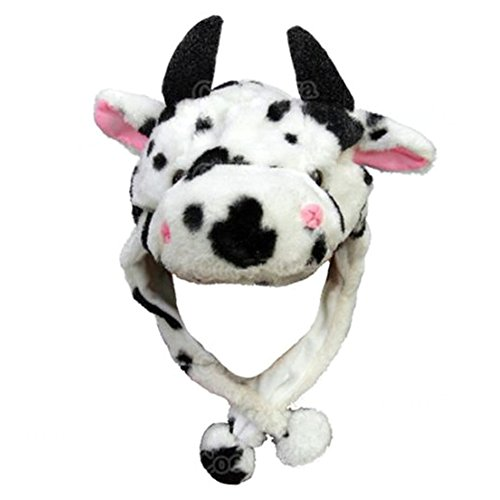 TopTie Cool Hats, Hood With Ear Flap - Cow, Horse, Bull, Cattle ()