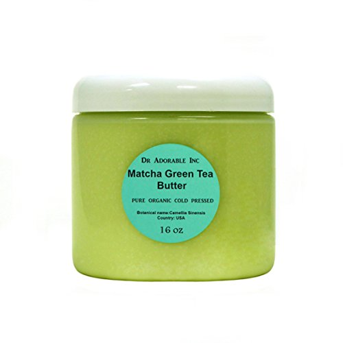 16 Oz Green Tea Matcha Butter Refined Organic 100% Pure 1 LB