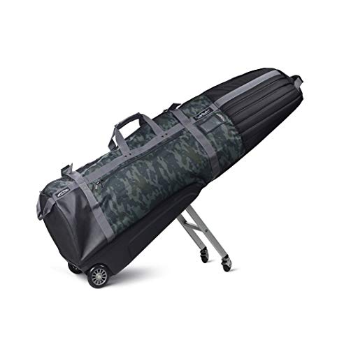 Sun Mountain Golf CLUBGLIDER Meridian Travel Cover Bag - Black-Black-Camo