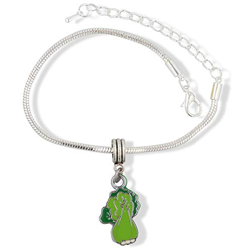 EPJ Leek Bok Choy Vegetable Green Bracelet