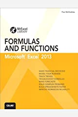 Excel 2013 Formulas and Functions: Microsoft Excel 2010, Portable Documents: Microsoft Excel 2010 (MrExcel Library) Kindle Edition