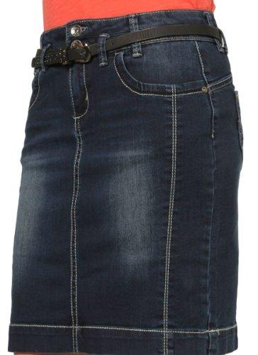 GinocchioIndacoskirt60Denim Jeans Midi Gonna Al Di Moda Skirt60 Alla wOkPXiTZu