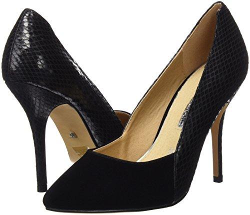 Maria I Tacco Donna Nero peach Col Basic Señora Scarpe Negro Negro Mare Serpiente Chiusa 2016 Calzado Punta rqWF8PTHr