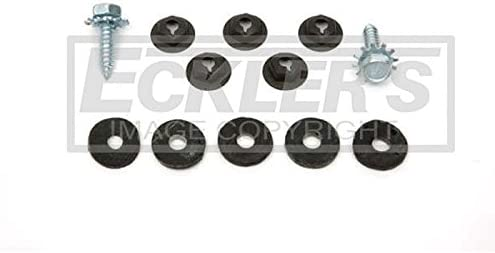 GM A Body Heater Box To Firewall Fasteners Ecklers Premier Quality Products 50-324530