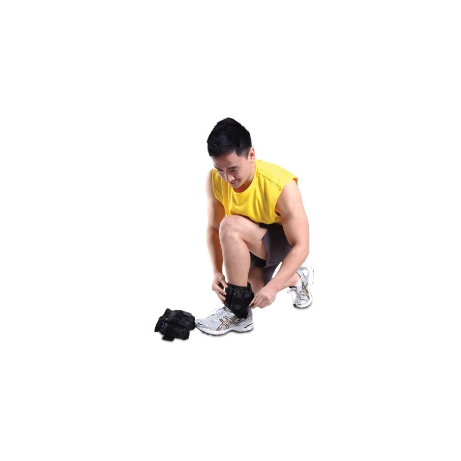 CAP Barbell Adjustable Ankle Weights,10 Pound