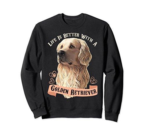 golden retriever sweatshirt (Retriever Adult Sweatshirt)