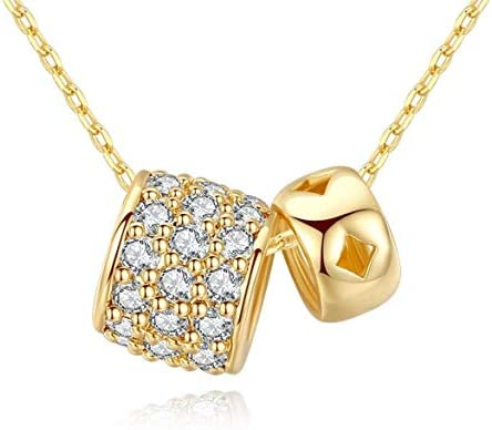SHENYI-Necklaces Elegant Necklace Plated 18K Real Gold Set