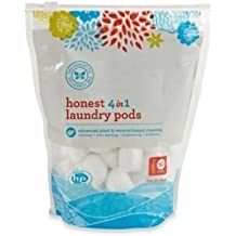 Honest 50-count 4-in-1 Laundry Packs by Honest