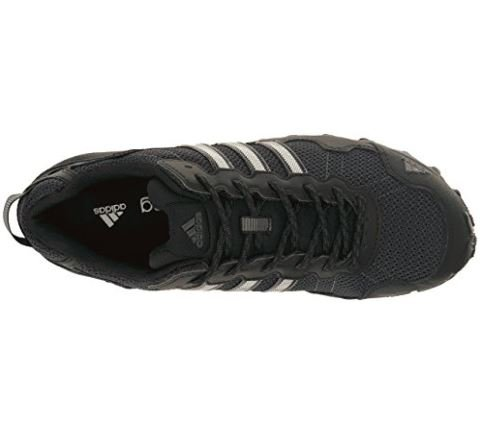 1ef5d6c8466 adidas Men's Rockadia Trail M Running Shoe, Black/Black/Dark Grey Heather,