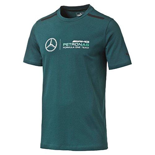 MERCEDES AMG PETRONAS Herren New Logo Tee 2016 M T-Shirt, Deep Teal, M