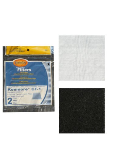 (2) Kenmore Sears Progressive Carbonation Filter CF1, Progressive & Whispertone, Panasonic Vacuum Cleaners, 86883, 86880, 20-86883, 2086883, 8175084