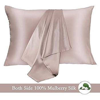 Amazon Com Jiangjue 100 Mulberry Silk Pillowcases Set Of