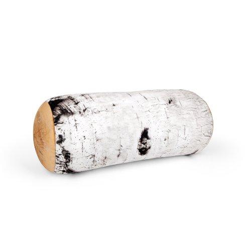 (Kikkerland Birch Log Micro Bead Head Cushion)