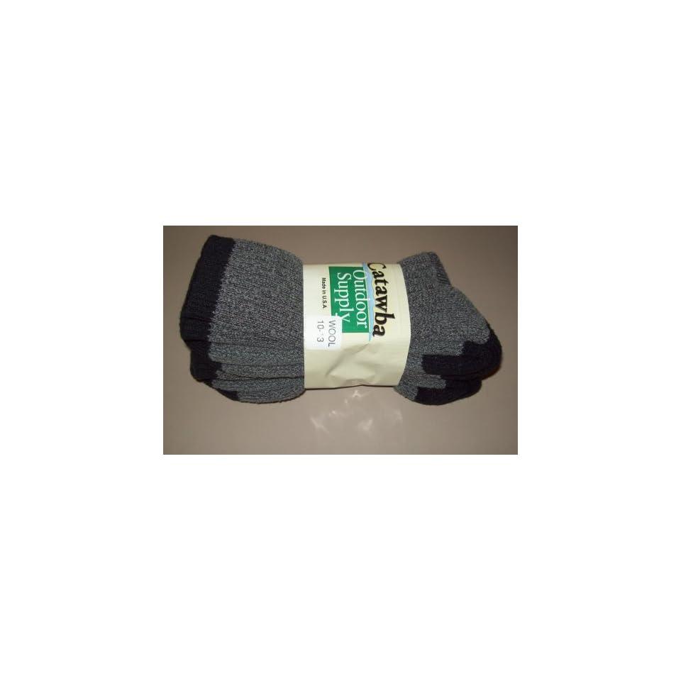 2 Pairs Mens Merino Wool Boot Socks NEW