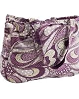 Thirty One Retro Metro Tote in Patchwork Paisley - 3873