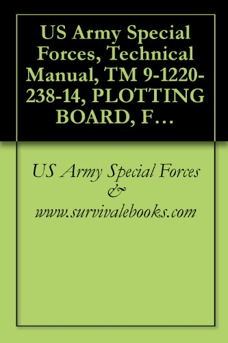 (US Army Special Forces, Technical Manual, TM 9-1220-238-14, PLOTTING BOARD, FLASH RANGING M18 W/E, NSN 1220-00-133-7039, 1974 )