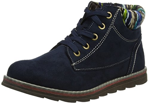 Lotus WoMen Sequoia Ankle Boots Blue (Navy Micro)