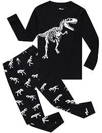Train Little Boys' 100% Cotton Pajamas Set 2 Piece Sleepwears Pjs