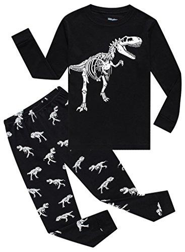 MMII pajamas Dinosaur Little Baby Boys' Cotton Sleeper Pajamas Set 2 Piece...