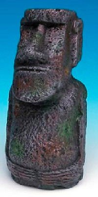 Penn-Plax Easter Island Statue Small - 4 Inch