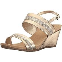 Bandolino Women's Greedson Wedge Sandal