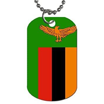 MyHeritageWear Zambia Bandera Etiqueta de Perro: Amazon.es ...