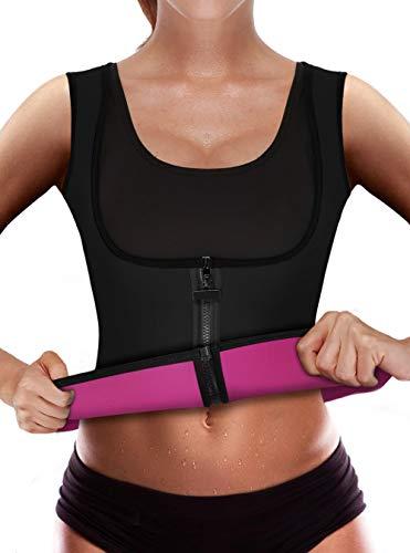 4050d30d92ae5 Sweat Vest Waist Trainer Women Weight Loss Sauna Suit Slimming Body Shaper