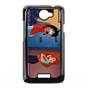 HTC One X Phone Case Covers Black Extremely Goofy Movie, An CNG Customize Phone Cover