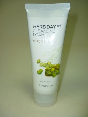 The Face Shop Herb Day Cleansing Cleansing Foam  170ml /Made