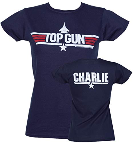 (Womens Top Gun Charlie T Shirt)