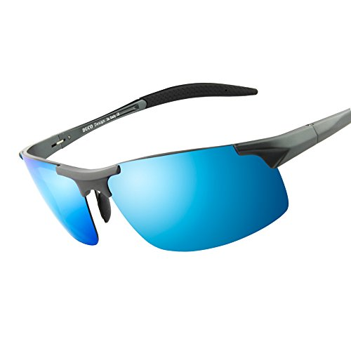 UV400 Polarized Driving Sunglasses Aviator Glasses Goggles - 3