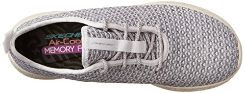 Skechers Burst, Zapatillas para Mujer White/Gray (WGY