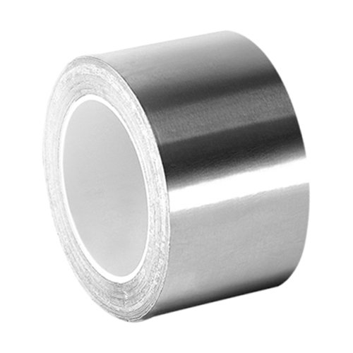 3M 3361 High Temperature Stainless Steel/Acrylic Adhesive Foil Tape, 1
