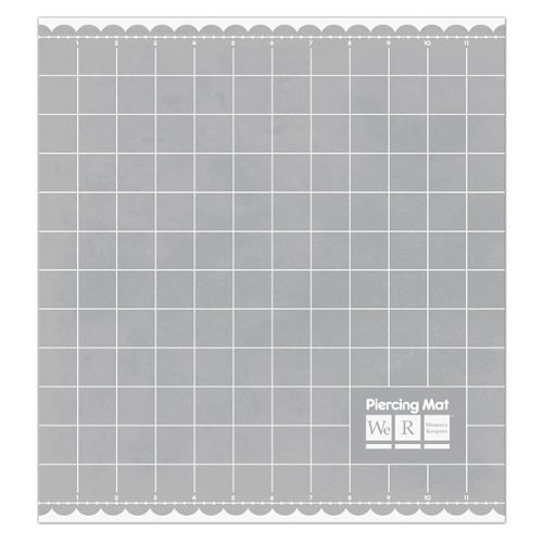 We R Memory Keepers Piercing Mat, 12 by 13-Inch by We R Memory Keepers