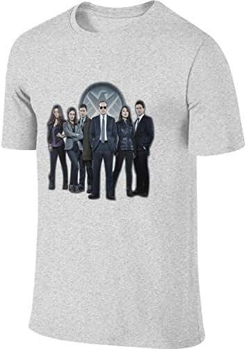 Kinggo Men's Personalized Fashion Tee Shirt Agents of Shield T-Shirts