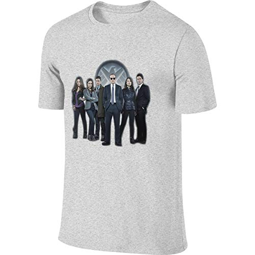 Kinggo Men's Personalized Fashion Tee Shirt Agents of Shield T-Shirts