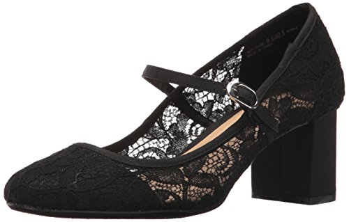 Cl By Cinese Lavanderia Donna Anslee Mary Jane Pump Pizzo Floreale Nero