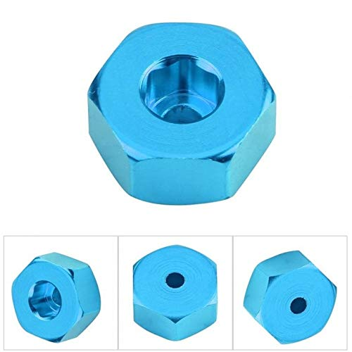 Part & Accessories Aluminium Alloy 6mm To 12mm Wheel Hex Hub Adapter for WPL 1634 RC Truck Upgrade Parts Accessory Hot on Sale - (Color: Blue)
