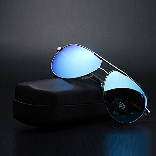 De 100 Glace Hommes Soleil TESITE PolariséS Verres Lunettes Bleu Anti pour Argent UV PY0xYHXnw