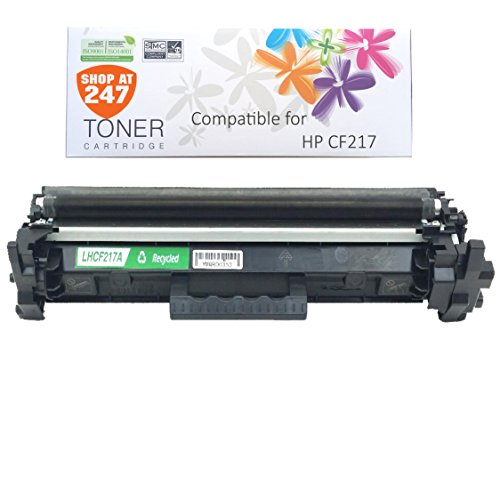 Shop 247 Compatible toner cartridges Replacement for CF217 (HP 17A) Toner Cartridge-Black for LaserJet ( NO IC CHIP)