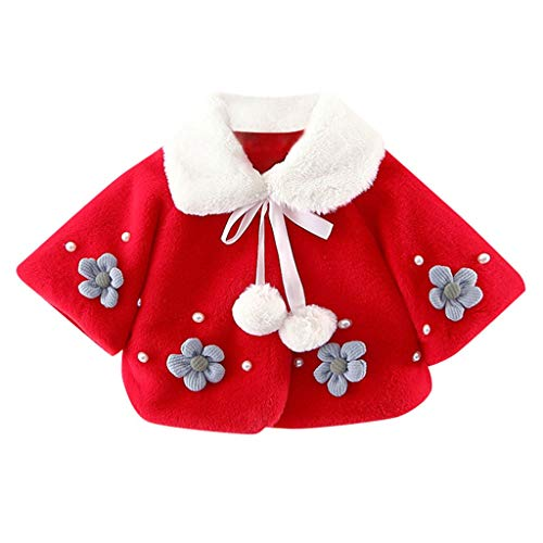 Phat Coats Baby Girls For (VEKDONE Toddler Kids Baby Long Sleeve Cartoon Print Hooded Coat Tops Rain Jacket)