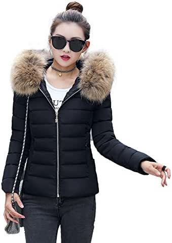 Fashion Solid Coat for Women Fit Casual Thicker Winter Slim Coat Overcoat Hoodie Sweatshirt Pullover Outerwear