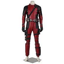 CosplayDiy Men's Deluxe Deadpool Wade Wilson Costume