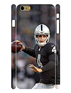 Absorbing Series Cell Phone Case Powerful Men Football Athlete Graphic Back Case Cover for Iphone 6 Plus (5.5) Inch (XBQ-0166T)