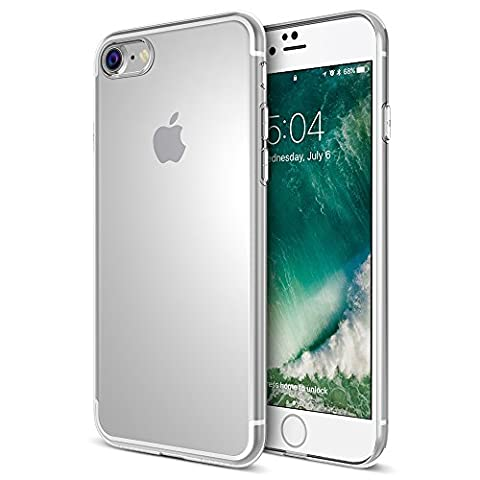 Maxboost iPhone 8 Case [Liquid Skin] Extreme Thin TPU Cover and Scratch Resistant for Apple iPhone 8 / iPhone 7 2016 - Cases and Covers