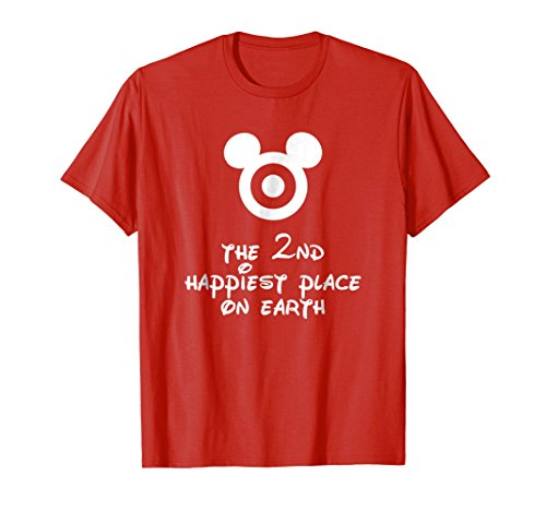 The 2nd Happiest Place on Earth Cute Funny Kids Mom Shirt