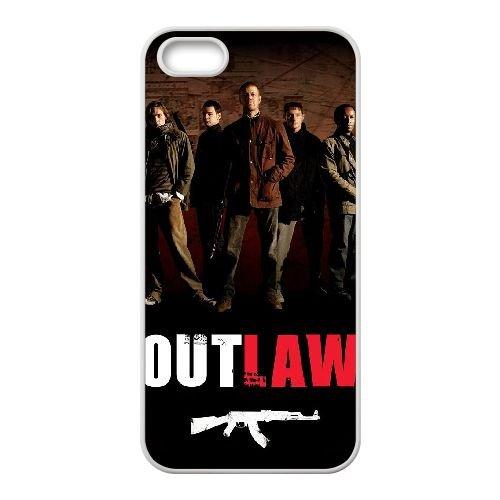 C9J74 Outlaw Haute Résolution Affiche UT4ZB coque iPhone 4 4s cellule de cas de téléphone couvercle coque blanche KV5FEP0IQ